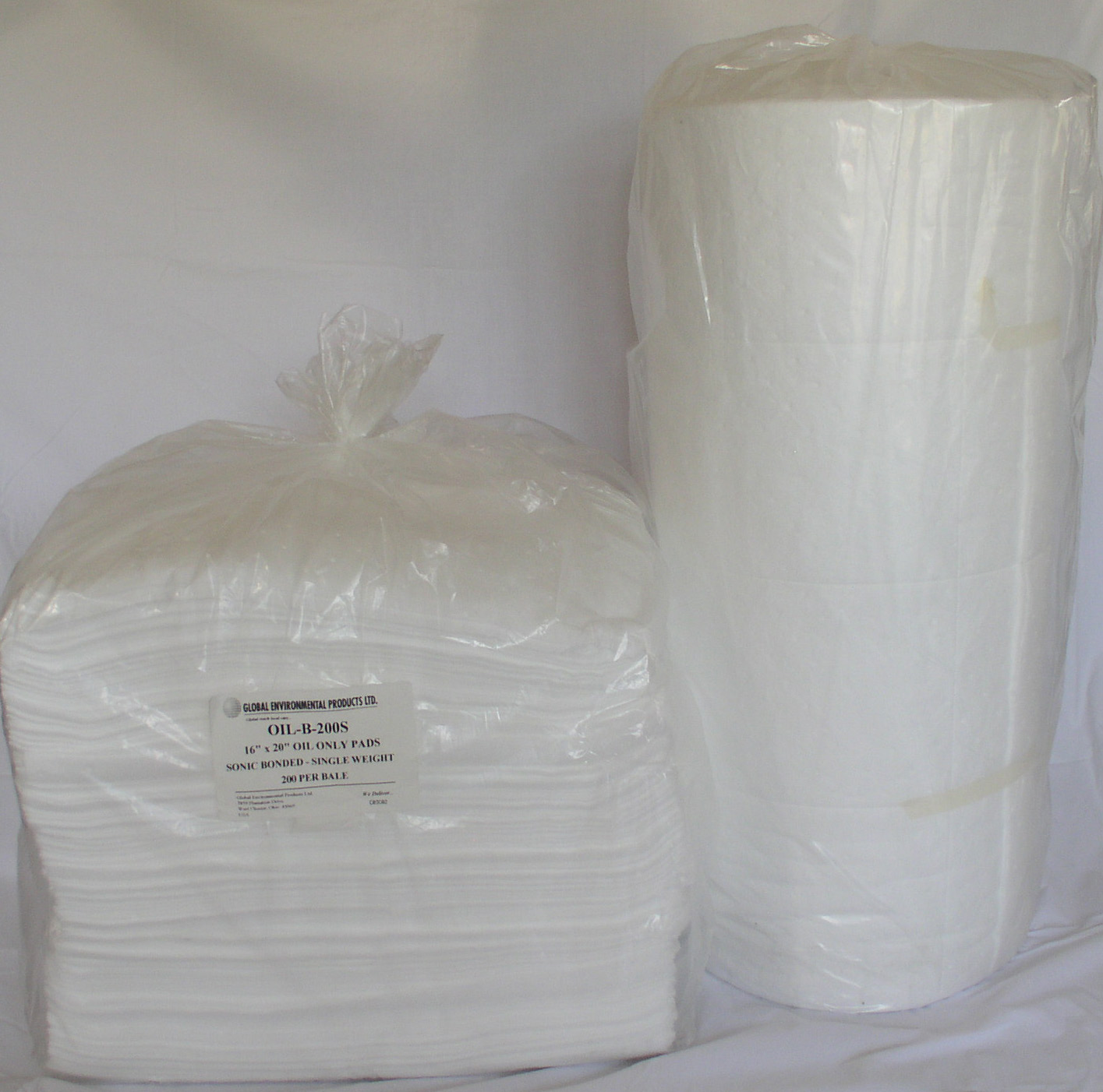 Oil Absorbent Sheets And Rolls